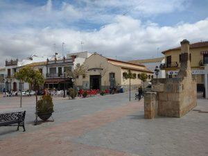 Fuente de Piedra. Plaza