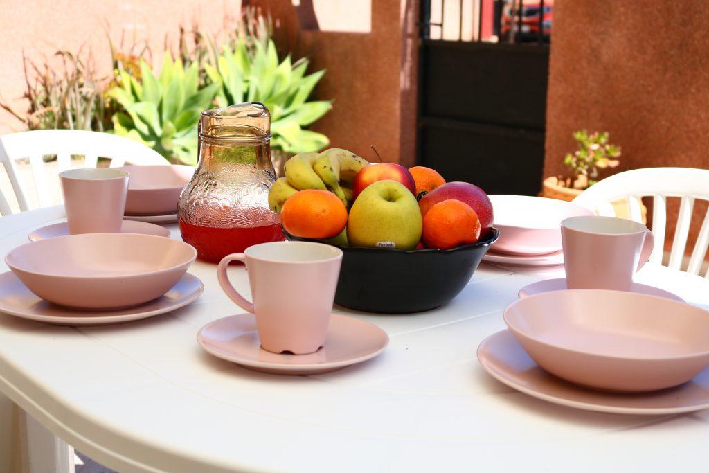 Casa Gracia. Desayuno al sol