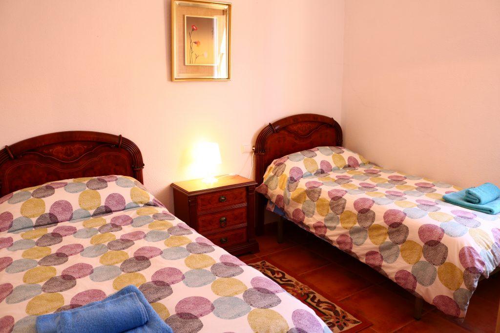 Casa Gracia. Dormitorio flor